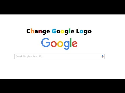 how to change google logo into your name its amazing 2016 youtube