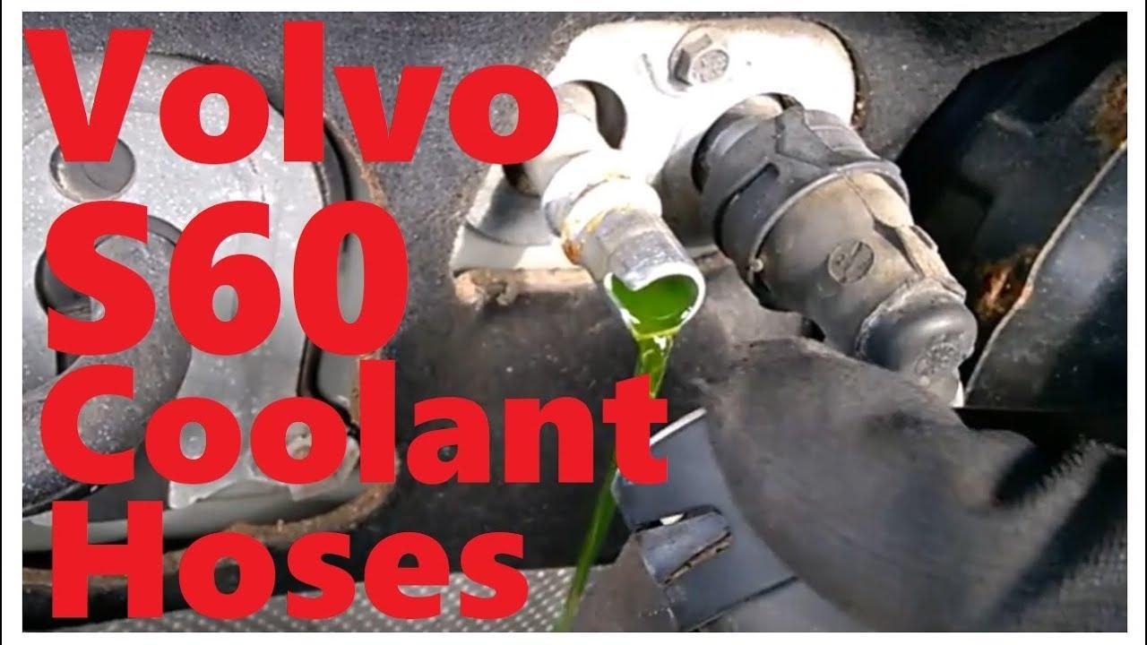 Volvo S60 XC70 XC90 heater core hose quick disconnect