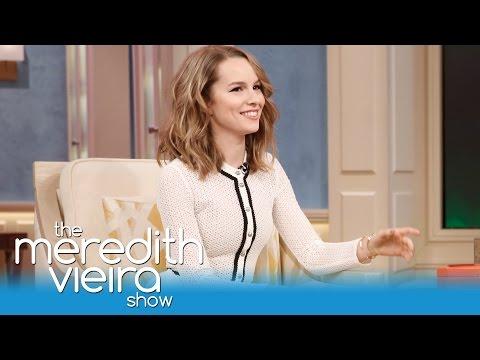 Bridgit Mendler on Her CoStar Boyfriend Shane Harper!  The Meredith Vieira Show