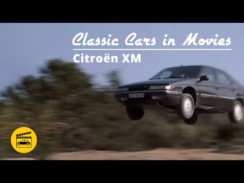 Classic Cars In Movies - Citroën XM