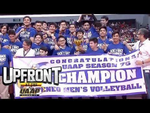 Ateneo de Manila University | Men's Volleyball | Upfront at the UAAP