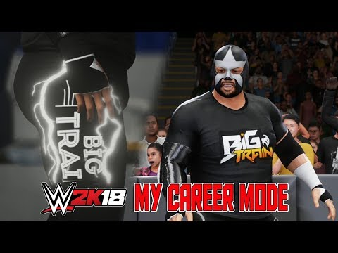 NEW GLOWING ATTIRE - WWE 2K18 My Career Mode Ep, 8 - Create a Superstar Glow in the Dark