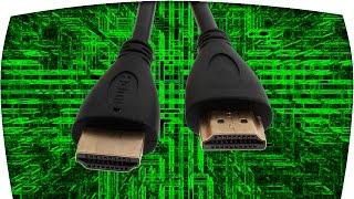 HDMI  кабель или как подключить ноутбук к телевизору