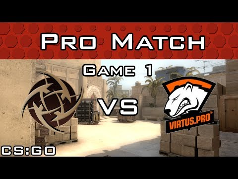 Grand Finals! NiP vs Virtus.pro EMS One Katowice (Game 1)