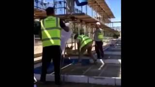 Funny Construction Site Pranks Compilation 2017 Part 2