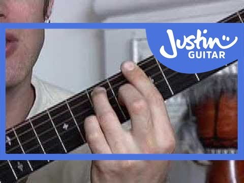 Basic Barré Chords #2of4 (Guitar Lesson CH-006) How to play - YouTube