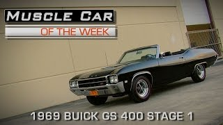 Muscle Car Of The Week Video Episode #153: 1969 Buick GS 400 Stage 1