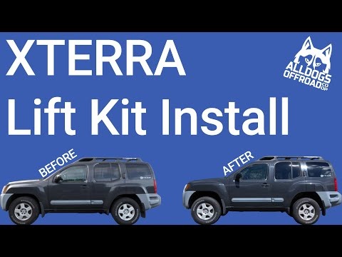 How To Install A Lift Kit On A Nissan Xterra