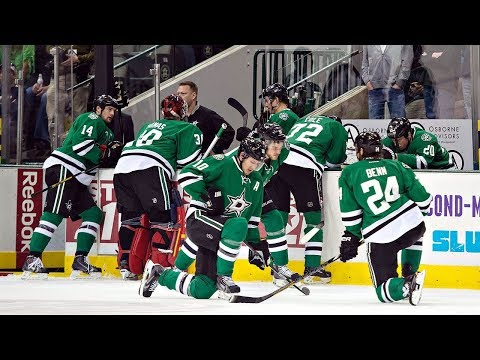 NHL Players Collapsing
