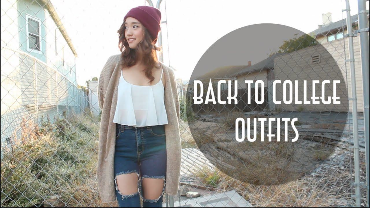 Back To College Outfits 2013 Youtube