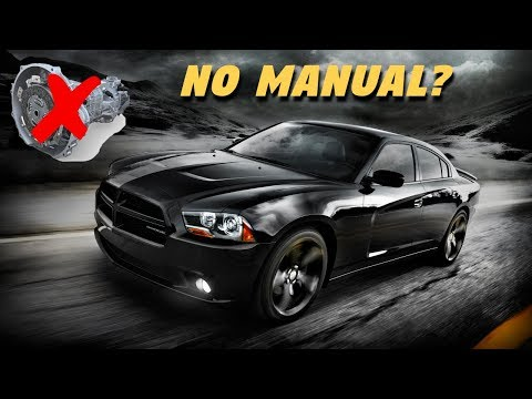 Why the Dodge Charger Never Got a Manual Transmission? (But Challenger Did...)