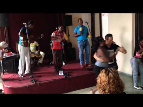 Nano dance Changui in Casa de la Trova, Santiago de Cuba
