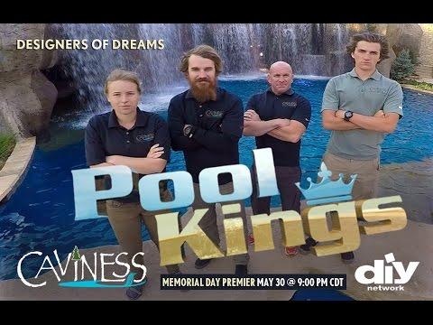 Caviness on pool kings sneak peak youtube for Pool kings design