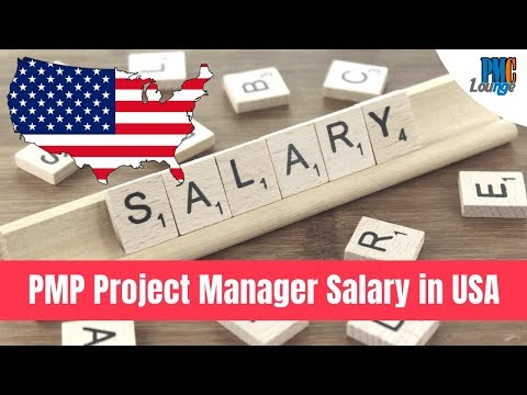 PMP Certified Project Manager Salary In USA