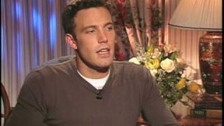 "Ben Affleck talks to Joe Leydon about ""Good Will Hunting"""