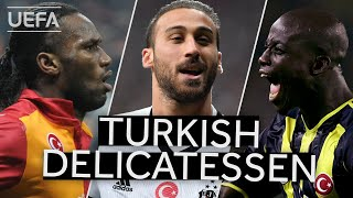 DROGBA, TOSUN, APPIAH: Great #UCL GOALS scored by TURKISH clubs!