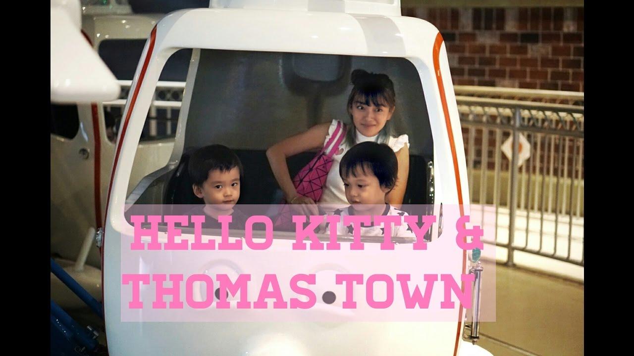 Hello kitty town puteri harbour family theme park johor bahru malaysia - Visit To Hello Kitty Town Thomas Town Puteri Harbour