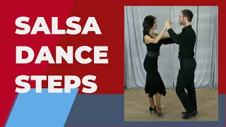 Salsa Dance Steps For Beginners - Salsa Basic Steps