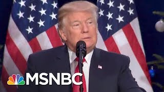 Trump White House Repeats Lie About Donald Trump's Tax Returns | The Last Word | MSNBC