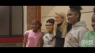 Country Star Elizabeth Lyons Visits Kips Bay Boys & Girls Club Coudert Clubhouse