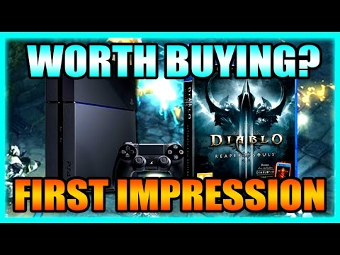 Diablo 3 PS4  Ultimate Evil Edition Gameplay and Impressions