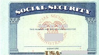 Social Security Card & Number