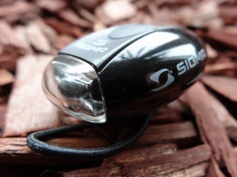 """""""SIGMA SPORT (Front Fahrradblitzlicht)"""" -Test"""