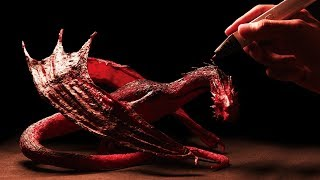 3D pen | Making Smaug in Hobbit | 3D펜 스마우그 만들기