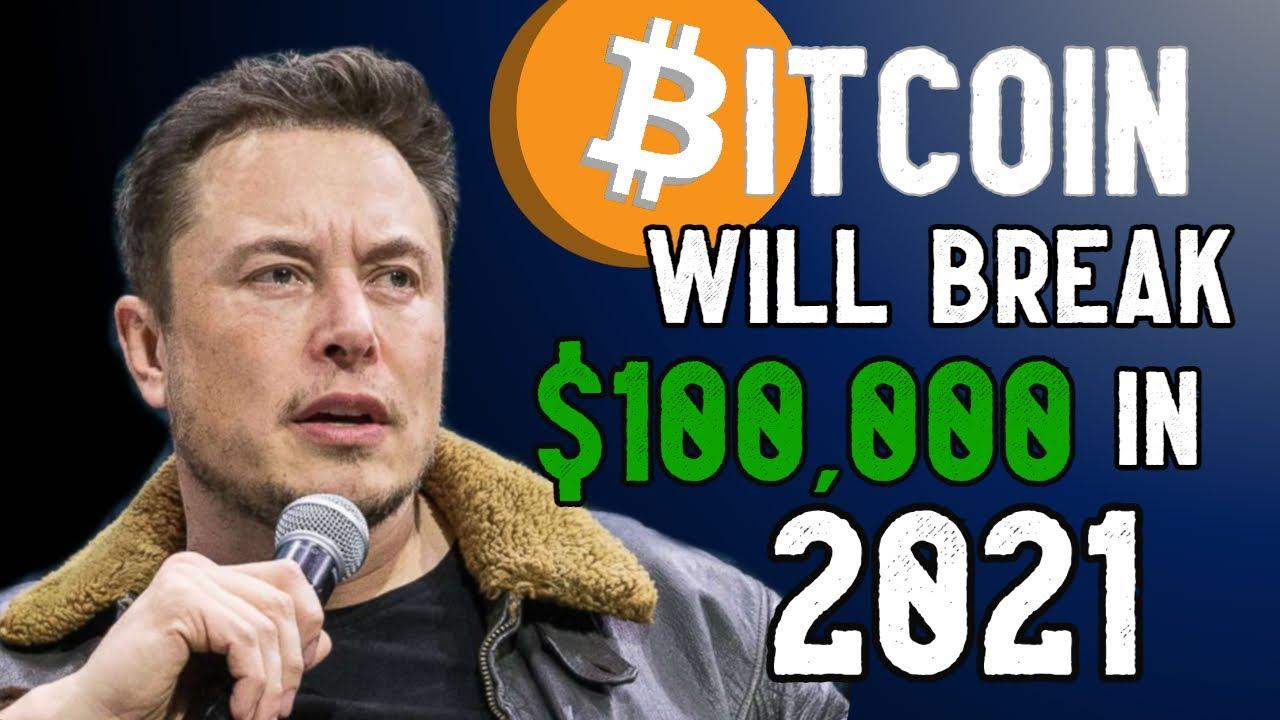 Bitcoin WILL Break $100K in 2021.. Elon Musk Buys $1.5B Worth