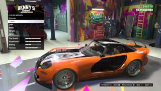 Gta Online Tokyo Drift Han S Banshee Car Build