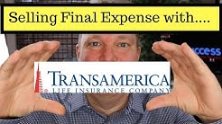 Final Expense | Selling Transamerica Final Expense Plan