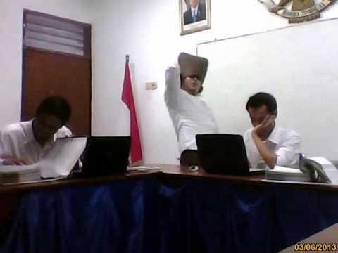 Indonesia Government Employees Harlem Shake