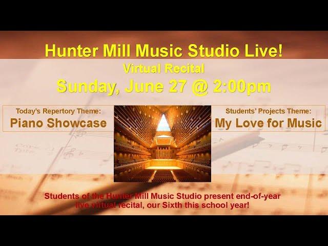 Hunter Mill Music Studio Live!
