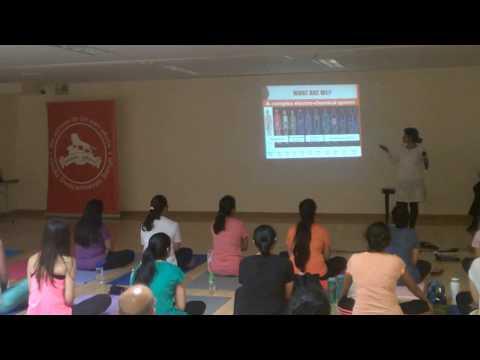 Yoga and human biology