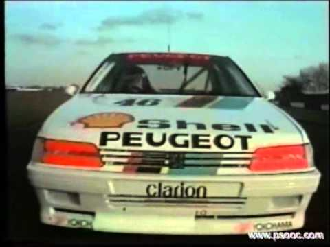 1992 toca shootout peugeot 405 mi16 youtube. Black Bedroom Furniture Sets. Home Design Ideas