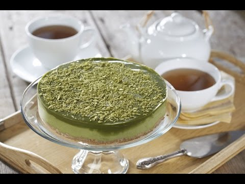 Green Tea Mousse Cake Recipe