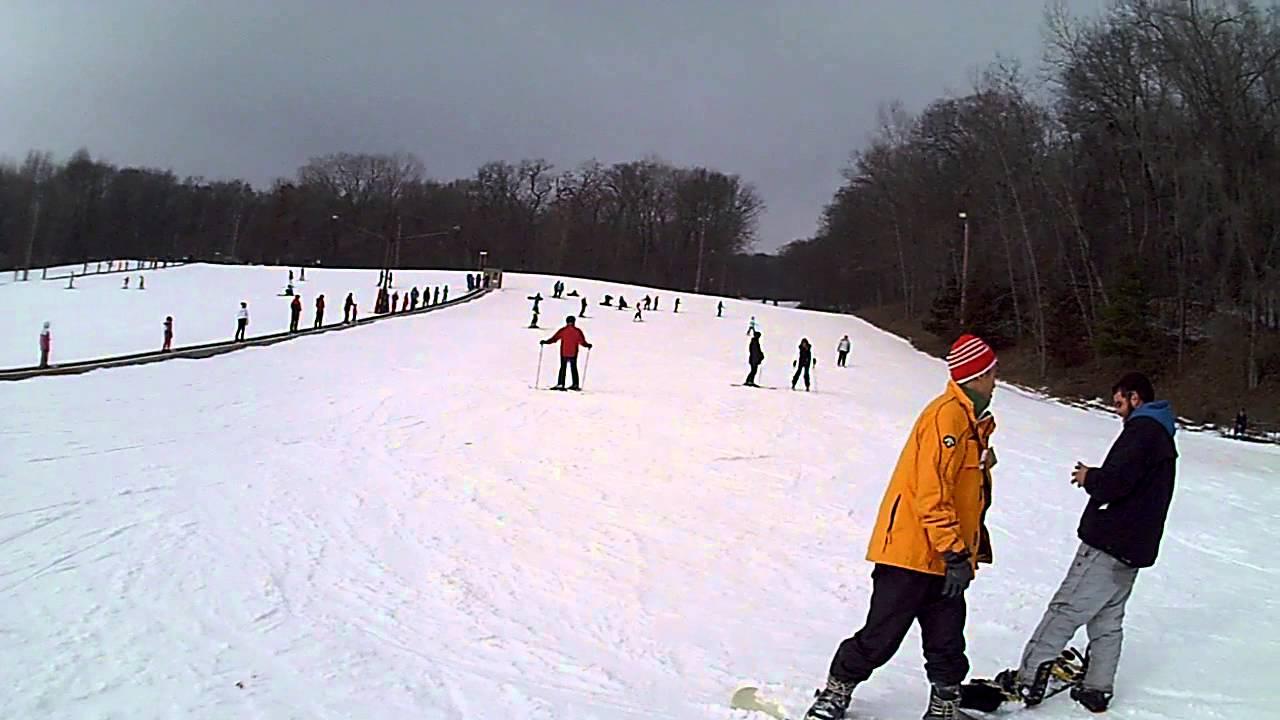 2015 beginners ski area at devil's head ski resort in merrimac