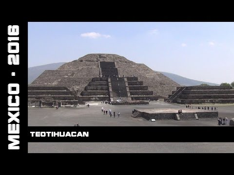 Teotihuacan, Mexico, 2016