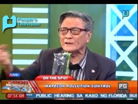 Panayam kay Gonzalo O. Catan Jr. Executive Vice President, Mapecon ukol sa Mapecon Pollution Control