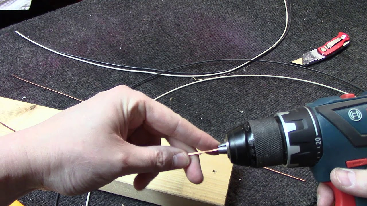 How to make perfectly straight copper buss wire for your tube ...