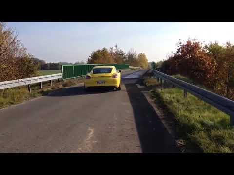 Porsche Cayman S Sound M&M Exhaust