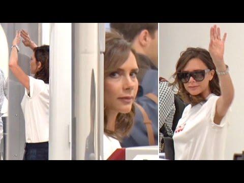 Victoria Beckham Shares Rare Conversation...