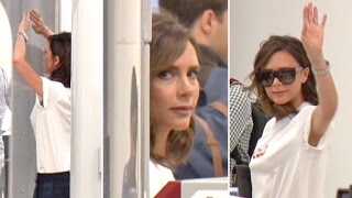 Victoria Beckham Shares Rare Conversation With Paparazzi At LAX TSA On Her Birthday