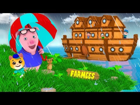 Animals Went In Two By Two | Nursery Rhymes For Kids by Farm