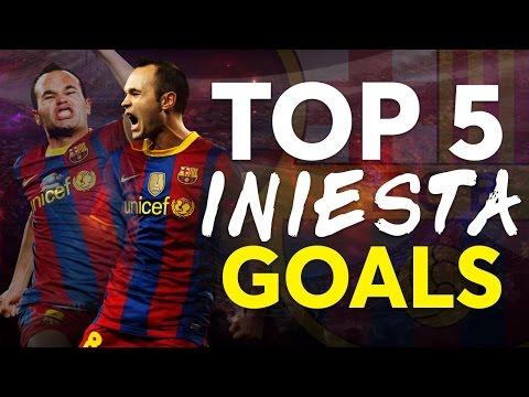 TOP 5 | Andrés Iniesta's BEST GOALS in La Liga