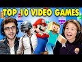 Generations React To Top 10 Video Games Of All Time