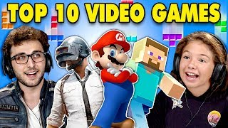 Download Generations React To Top 10 Video Games Of All Time Mp3 and Videos