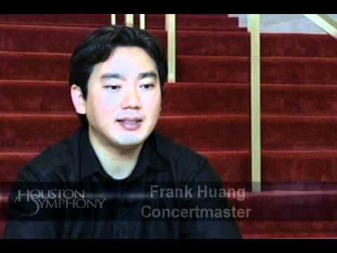Introducing Frank Huang, the Houston Symphony's New Concertmaster