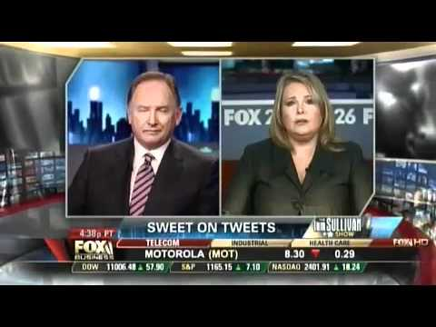 MelissaTweets Talks Twitter To Tom Sullivan Of The Fox Business News Channel