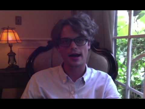 Ask a Grown Man  Matthew Gray Gubler on Vimeo